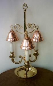Stolní svítidlo - zakázková výroba