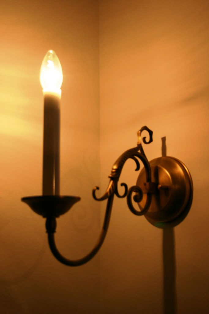 Nástěnné svítidlo - zakázková výroba